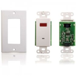 C2G (Cables To Go) - 40478 - C2G TruLink Infrared (IR) Remote Control Dual Band Wall Plate Receiver