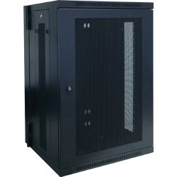 "Tripp Lite - SRW18US - Tripp Lite 18U Wall Mount Rack Enclosure Server Cabinet Hinged w/ Door & Sides - 19"" 18U Wall Mounted"