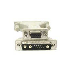 C2G (Cables To Go) - 28278 - C2G 13W3 Male to HD15 Female Pinning Adapter - 1 x HD-15 Female - 1 x 13W3 Male - Beige