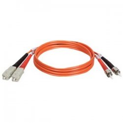 Tripp Lite - N504-05M - Tripp Lite 5M Duplex Multimode 50/125 Fiber Optic Patch Cable SC/ST 16' 16ft 5 Meter - SC Male - ST Male - 16.4ft - Orange