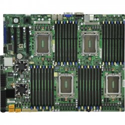 Supermicro - H8QGI-F-O - Supermicro H8QGI-F Server Motherboard - AMD SR5690 Chipset - Socket G34 LGA-1944 - Retail Pack - SWTX - 4 x Processor Support - 512 GB DDR3 SDRAM Maximum RAM - 1.33 GHz Memory Speed Supported - 32 x Memory Slots - Serial ATA/300