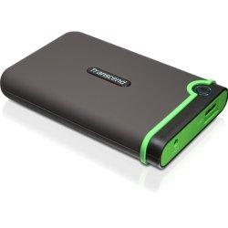 """Transcend - TS500GSJ25M3 - Transcend StoreJet M3 TS500GSJ25M3 500 GB 2.5"""" External Hard Drive - USB 3.0 - SATA - 5400rpm - 8 MB Buffer"""