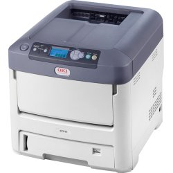 Okidata - 91664903 - Oki C711DN LED Printer - Color - 1200 x 600 dpi Print - Plain Paper Print - Desktop - 36 ppm Mono / 34 ppm Color Print - 630 sheets Standard Input Capacity - 100000 Duty Cycle - Automatic Duplex Print - LCD - Ethernet - USB