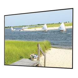 Draper - 252043 - Draper Clarion 252043 Fixed Frame Projection Screen - 161 - 16:9 - Wall Mount - 80 x 140 - M2500