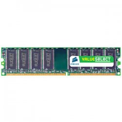 Corsair - CMV4GX3M1A1333C9 - Corsair Value Select CMV4GX3M1A1333C9 4GB DDR3 SDRAM Memory Module - 4 GB (1 x 4 GB) - DDR3 SDRAM - 1333 MHz DDR3-1333/PC3-10666 - 1.50 V - 240-pin - DIMM