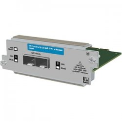 Hewlett Packard (HP) - JD368B - HP SFP+ Expansion Module - 2 x SFP+ 10 - 2 x Expansion Slots