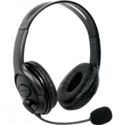 dreamGEAR / iSound - DG360-1707 - dreamGEAR X-Talk Headset - Stereo - Black - Wired - 20 Hz - 20 kHz - Over-the-head - Binaural - Circumaural - 6 ft Cable - Noise Cancelling Microphone