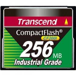 Transcend - TS256MCF200I - Transcend TS256MCF200I 256 MB CompactFlash