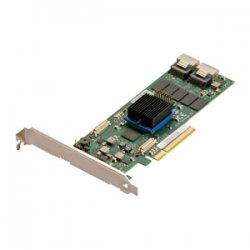 Atto Technology - ESAS-R608-000 - ATTO ExpressSAS R608 - Serial ATA/600, 6Gb/s SAS - PCI Express 2.0 x8 - Plug-in Card - RAID Supported - 0, 1, 4, 5, 6, 10, 50, 60, 40, DVRAID RAID Level - 8 Total SAS Port(s) - 8 SAS Port(s) Internal