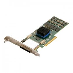 Atto Technology - ESAS-R680-000 - ATTO ExpressSaS R680 - Serial ATA/600, 6Gb/s SAS - PCI Express 2.0 x8 - Plug-in Card - RAID Supported - 0, 1, 4, 5, 6, 10, 50, JBOD, 60, 40, DVRAID RAID Level - 8 Total SAS Port(s) - 8 SAS Port(s) External