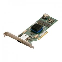 Atto Technology - ESAS-R644-C00 - ATTO ExpressSAS R644 4-port SAS RAID Controller - Serial ATA/600 - PCI Express 2.0 x8 - Plug-in Card - RAID Supported - 0, 1, 4, 5, 6, 10, 50, JBOD, 60, 40, DVRAID RAID Level - 2 Total SAS Port(s) - 1 SAS Port(s) Internal