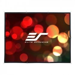 Elite Screens - DIY251RH1 - Elite Screens DIY Pro DIY251RH1 Projection Screen - 251 - 16:9 - Surface Mount, Wall Mount - 122.8 x 218.3 - Wraith Veil