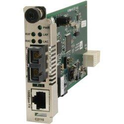Transition Networks - C2110-1014 - Transition Networks C2110-1014 Fast Ethernet Media Converter - 1 x Network (RJ-45) - 1 x SC Ports - 100Base-TX, 100Base-FX - Internal