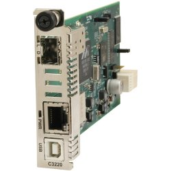 Transition Networks - C3230-1014 - Transition Networks C3230-1014 Gigabit Ethernet Media Converter - 1 x Network (RJ-45) - 1 x SC Ports - - USB - 1000Base-LX, 10/100/1000Base-T - Internal