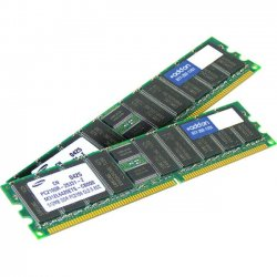 AddOn - 593923-B21-AM - AddOn HP 593923-B21 Compatible Factory Original 4GB DDR3-1333MHz Unbuffered ECC Dual Rank 1.5V 240-pin CL9 UDIMM - 100% compatible and guaranteed to work