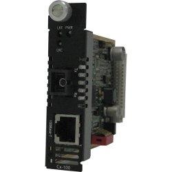 Perle Systems - 05052280 - Perle CM-100-S1SC20D Fast Ethernet Media Converter - 1 x Network (RJ-45) - 1 x SC Ports - 100Base-TX, 100Base-BX - Internal