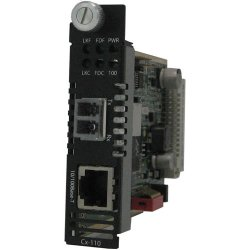 Perle Systems - 05052440 - Perle CM-110-S2LC20 Fast Ethernet Media Converter - 1 x Network (RJ-45) - 1 x LC Ports - DuplexLC Port - 10/100Base-TX, 100Base-LX - Internal