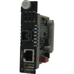 Perle Systems - 05052470 - Perle CM-110-S1SC20U Fast Ethernet Media Converter - 1 x Network (RJ-45) - 1 x SC Ports - 10/100Base-TX, 100Base-BX - Internal