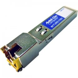 AddOn - EX-SFP-1GE-T-AO - AddOn Juniper Networks EX-SFP-1GE-T Compatible TAA Compliant 1000Base-TX SFP Transceiver (Copper, 100m, RJ-45) - 100% compatible and guaranteed to work