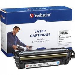 Verbatim / Smartdisk - 97481 - Verbatim Remanufactured Laser Toner Cartridge alternative for HP CE251A Cyan - Cyan - Laser - 5000 Page
