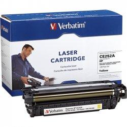 Verbatim / Smartdisk - 97486 - Verbatim Remanufactured Laser Toner Cartridge alternative for HP CE252A Yellow - Yellow - Laser