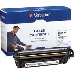 Verbatim / Smartdisk - 97487 - Verbatim Remanufactured Laser Toner Cartridge alternative for HP CE253A Magenta - Magenta - Laser