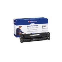 Verbatim / Smartdisk - 97484 - Verbatim Remanufactured Laser Toner Cartridge alternative for HP CC531A Cyan - Cyan - Laser - 1 Each