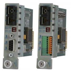 Omnitron - 8763-2-Z - iConverter RS-232 Serial Fiber Media Converter DB-9 SC Single-Mode 60km Module Extended Temp - 1 x RS-232; 1 x SC Single-Mode; Internal Module; Lifetime Warranty