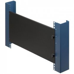 Rack Solution - 102-1474 - Rack Solutions 102-1474 1U Tool-less Flange Panel - Black