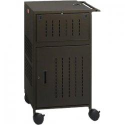Bretford - TCPUL23-BK - Bretford Basics TCPUL23 TV Stand - 5 x Shelf(ves) - 41.8 Height x 25.5 Width x 22.8 Depth - Steel - Black