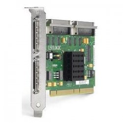 Hewlett Packard (HP) - 268351-B21 - HP-IMSourcing DS StorageWorks U320 SCSI Adapter - Ultra320 SCSI - PCI-X - Plug-in Card - 3 Total SCSI Port(s) - 1 SCSI Port(s) Internal - 2 SCSI Port(s) External