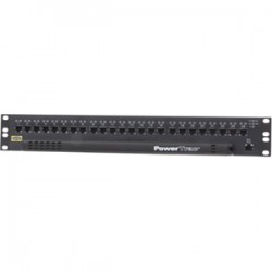 Hubbell - DTX24P - Hubbell DTX24P 24-Port Network Patch Panel - 24 x RJ-45 - 24 Port(s) - 24 x RJ-45 - 24 x RJ-11 - 1.5U High - Rack-mountable