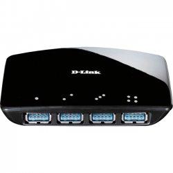 D-Link - DUB-1340 - D-Link DUB-1340 4-port USB Hub - USB - External - 4 USB Port(s) - 4 USB 3.0 Port(s)