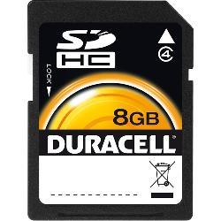 Duracell - DU-SD-8192-R - DURACELL DU-SD-8192-R 8GB Class 4 SD(TM) Card