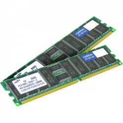 AddOn - 500662-S21-AMK - AddOn HP 500662-S21 Compatible Factory Original 8GB DDR3-1333MHz Registered ECC Dual Rank 1.5V 240-pin CL9 RDIMM - 100% compatible and guaranteed to work