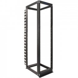 Rack Solution - 111-1729 - Innovation 111 Open Server Rack Frame - 44U Wide - Black - 3000 lb x Maximum Weight Capacity