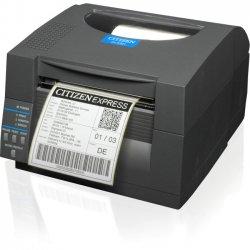 Citizen - CL-S521-GRY - Citizen CL-S521 Direct Thermal Printer - Monochrome - Desktop - Label Print - 4.09 Print Width - 6 in/s Mono - 203 dpi - 16 MB - USB - Serial - 4.65 Label Width