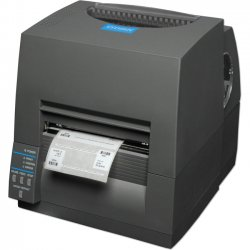 Citizen - CL-S631-GRY - Citizen CL-S631 Direct Thermal/Thermal Transfer Printer - Monochrome - Desktop - Label Print - 4.10 Print Width - 4 in/s Mono - 300 dpi - 8 MB - USB - Serial - 4.65 Label Width