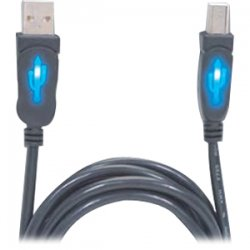 CP Tech / Level One - CP-USB2-AB-6L - ClearLinks CP-USB2-AB-6FT USB 2.0 Cable - Type A Male USB - Type B Male USB - 6ft