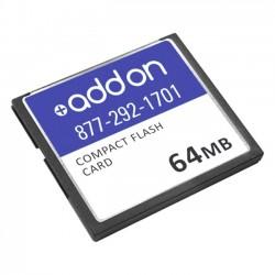 AddOn - MEM3725-64CF-AO - AddOn Cisco MEM3725-64CF Compatible 64MB Factory Original Compact Flash - 100% compatible and guaranteed to work