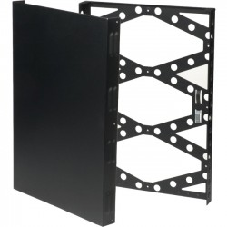 Rack Solution - 2URACK-110 - Innovation 2U Wall Mount Rack - Black