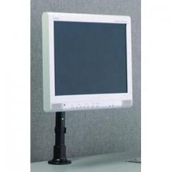 Peerless / Smartmount - LCH 100G - Peerless LCH 100G - LCD Height Adjustable Mount Stand - Up to 25lb - Up to 22 Flat Panel Display - Gray