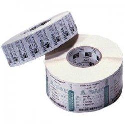 """Zebra Technologies - 72282 - Zebra Label Paper 2.75 x 1.25in Thermal Transfer Zebra Z-Select 4000T 3 in core - 2.75"""" Width x 1.25"""" Length - 4240/Roll - 8 / Case - White"""