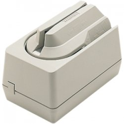 MagTek - 22530005 - MagTek Magnetic Stripe Reader - Triple Track - Keyboard Wedge - Dark Gray