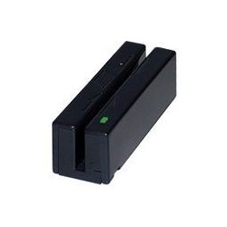 MagTek - 21040110 - MagTek Magnetic Stripe Swipe Card Reader - Dual Track - 50in/s - USB, Keyboard Wedge - Black