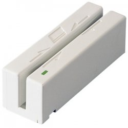 MagTek - 21040103 - MagTek Magnetic Stripe Swipe Card Reader - USB - White