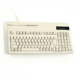 Unitech Electronics - K2714 - Unitech K2714 POS Keyboard - PS/2 - QWERTY - 104 Keys - Beige