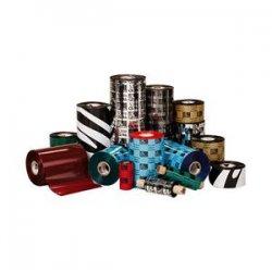 Zebra Technologies - 05555BK17445 - Zebra Wax Resin Ribbon 6.85inx1476ft 5555 Standard 1in core - Thermal Transfer - Black - 12