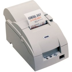 Epson - C31C515A8761 - Epson TM-U220D POS Receipt Printer - 9-pin - 6 lps Mono - USB