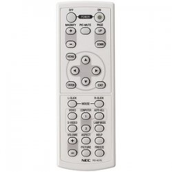 NEC - RMT-PJ03 - NEC Replacement Remote For VT770 - Projector - 23 ft
